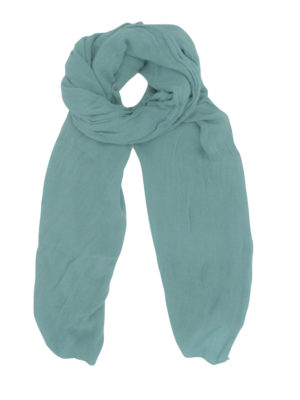 lightweight wool scarf/shawl teal