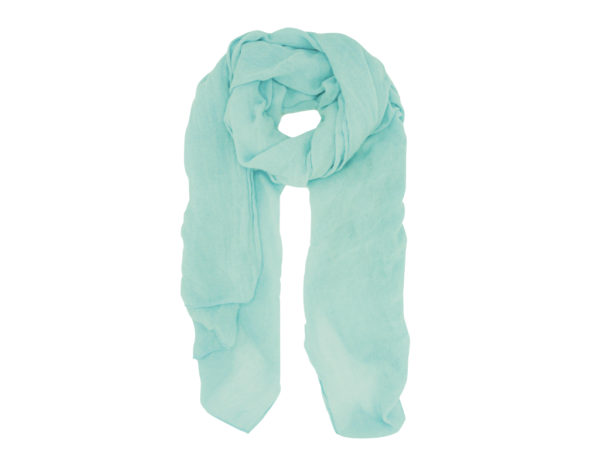Light Teal wool scarf/shawl